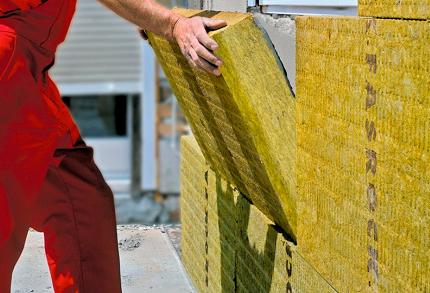 Базальтовый утеплитель для стен: положительные характеристики материала