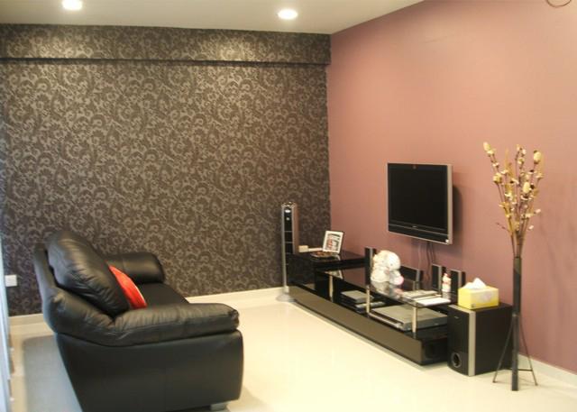 Ремонт квартиры обои дизайн фото разные стены