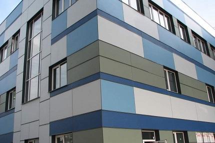 Композитный алюминиевый фасад: преимущественные характеристики