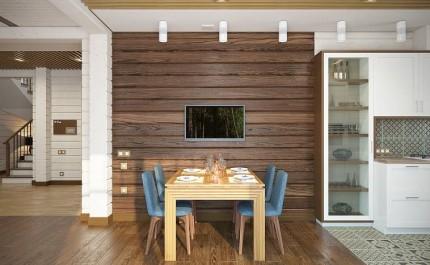 Достоинства деревянной доски и правила использования ее как отделочного материала