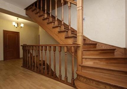 Основные виды конструкций деревянных лестниц для загородного дома