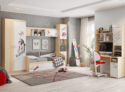 Отделка детской комнаты: рекомендации по выбору материалов