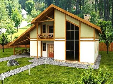 Строительство дома по канадской технологии: технология и материалы
