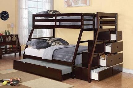 Двухъярусная детская кровать и как ее выбрать: назначение данного вида мебели