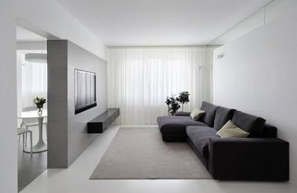 Мебель в стиле минимализм в интерьере гостиной: важные моменты при покупке