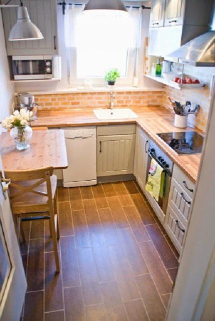 Как оформить интерьер маленькой кухни: советы и  рекомендации