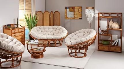 Преимущества мебели из ротанга и правила ее выбора