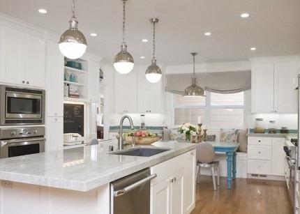 Как грамотно спланировать освещение кухни: идеи и советы