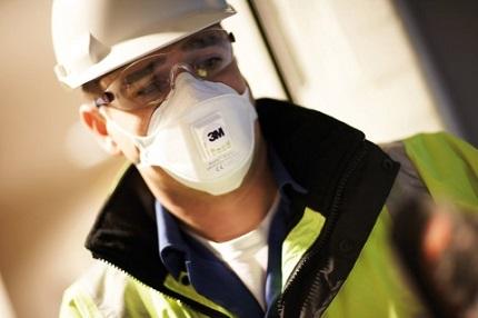 Выбираем респиратор для строителя: главные требования к изделию