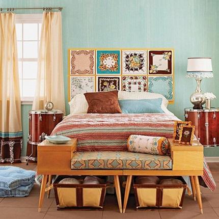 Спальня в ретро стиле: особенности оформления и требования к мебели