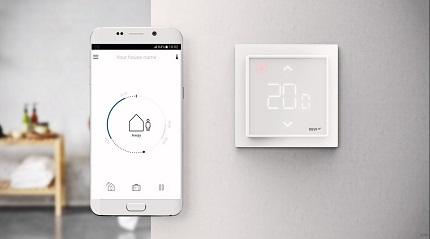 Термостат для теплого пола: достоинства и назначение устройства